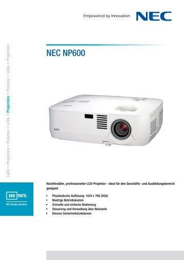 NEC NP600