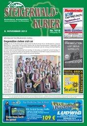 Ausgabe 1018 - Steigerwald-Kurier
