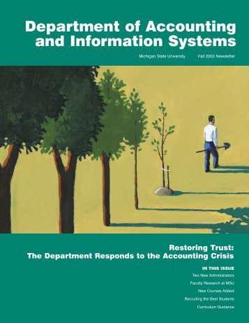 Fall 2002 Newsletter (PDF) - Department of Accounting ...