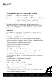 Minnesanteckningar: Informationsmöte i Kulltorp - Gnosjö kommun