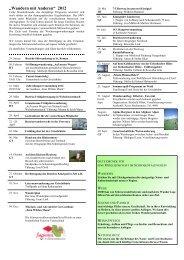 Wanderplan 2012_inkl. Bildern - Gastliches Kinzigtal
