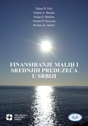 finansiranje malih i srednjih preduzeća u srbiji - Privredna komora ...