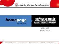 Mihaela Turner - Društvene mreže - karakteristike i ... - Razvoj karijere