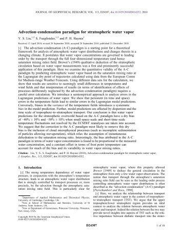 preprint (pdf) - Atmospheric Dynamics Group - University of Cambridge