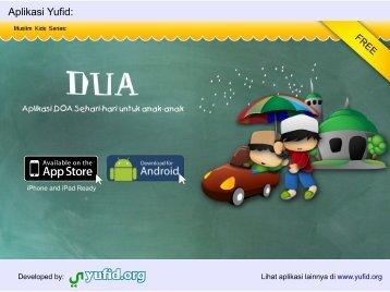 Aplikasi Yufid: - Khotbah Jum'at