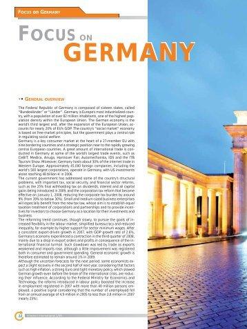 Focus on Germany