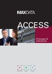 IT-Lösungen für Unternehmen - MaxData