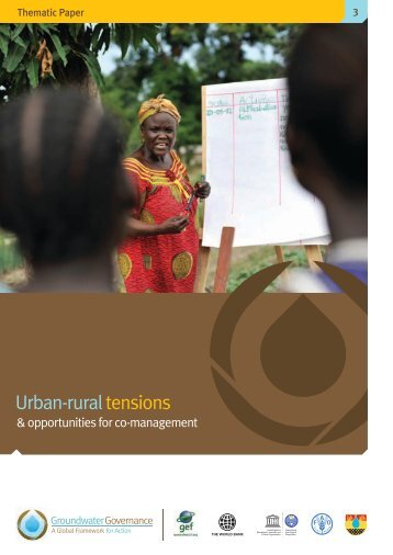 Thematic paper 3: Urban-rural tensions - Groundwater Governance