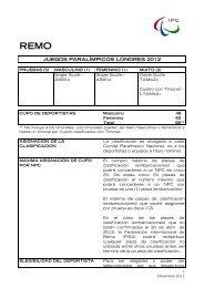 Descarga Criterios de Clasificacion IPC Remo - Comité Paralímpico ...