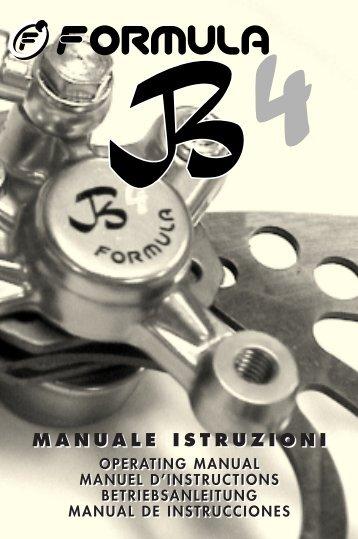 Operating Manual B4 - Formula