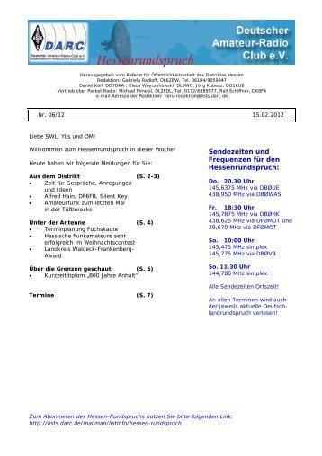Hessenrundspruch - DARC