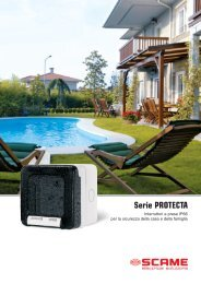 Serie PROTECTA - Scame Parre S.p.A.