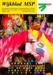 Wijkblad St. Wijkbeheer MSP, ed 1, 2011 - Mijn MSP
