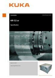 KR C2 sr - KUKA Robotics