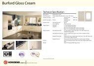 Burford Gloss Cream