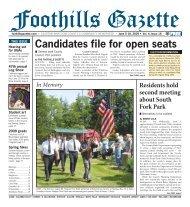 Gazette Vol 4 #16.indd - Foothills Gazette