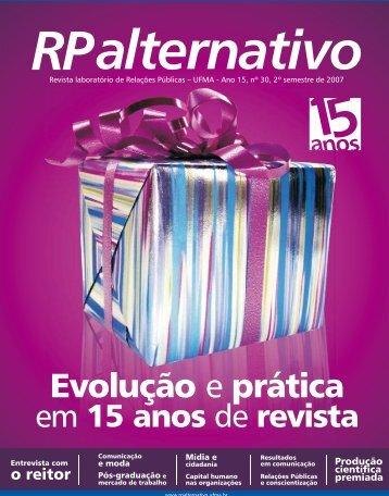 Evolução e prática - RP Alternativo - Ufma