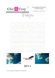 Tokyo - Chic & Cosy
