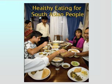Launch of South Asian healthy eating resource