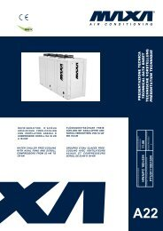 HWA/FC 182÷524 - Chiller