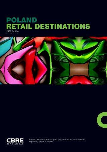 Poland Retail Destinations 2009 Edition - Business In Malopolska