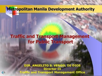 Traffic and Transport Management for Public Transport