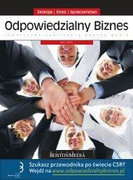 odpowiedzialny biznes2.indd - Forum Odpowiedzialnego Biznesu