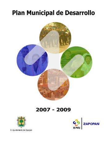 Plan Municipal de Desarrollo - Ayuntamiento de Zapopan