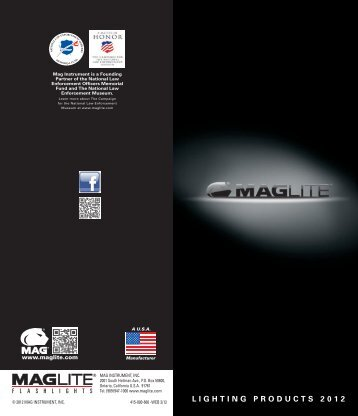 LIGHTING PRODUCTS 2012 - Maglite