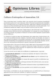 Culture d'entreprise et innovation 1/6 - Le Club Innovation Banque ...