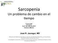 Sarcopenia - Academia Latinoamericana de Medicina del Adulto ...