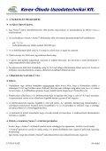 Részletes műszaki adatok - Kerex-Óbuda Kft. - Page 4
