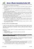 Részletes műszaki adatok - Kerex-Óbuda Kft. - Page 5