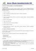 Részletes műszaki adatok - Kerex-Óbuda Kft. - Page 6