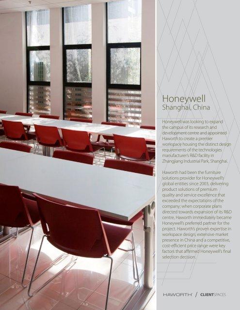 Honeywell Shanghai, China - Haworth Asia Pacific