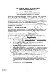 EBD-INS-06 - Export-Import Bank of the United States