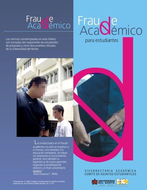 fraude estudiantes.cdr - Universidad del Norte