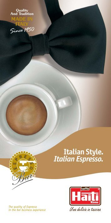 Inglese - Caffè Haiti Roma