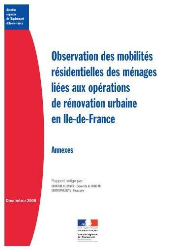 Rapport annexes - Driea