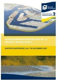 VOORTGANGSRAPPORTAGE PMR (Nr. 3 ... - Maasvlakte 2