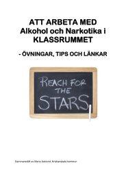 Att arbeta med ANDT i klassrummet. - Kristianstad