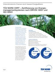 managementsystemen nach DIN EN 16001 und ISO ... - TÜV NORD