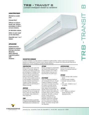 TRB -TR ANSIT B - Visioneering Corp