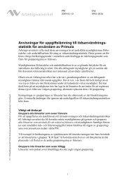 Anvisningar (Primula) - Arbetsgivarverket