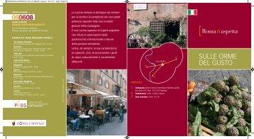 Sulle orme del gusto_Cucina - Roma