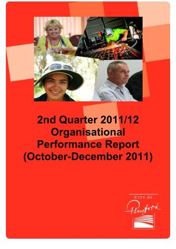 2nd Quarter 2011/12 Organisational Performance ... - City of Playford