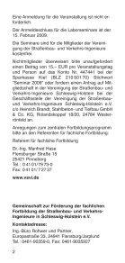 FoRTBILDUNGSPRoGRAMM 2009 - Vereinigung der Straßenbau ... - Seite 2