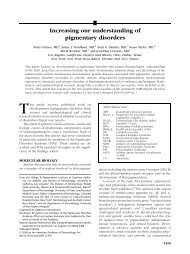 Increasing our understanding of pigmentary disorders - Antonio ...