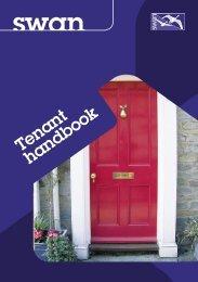 Tenant handbook - Swan Housing Association
