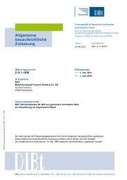 DIBt-Zulassung Z-21.1-1638 - MKT Metall-Kunststoff-Technik GmbH ...